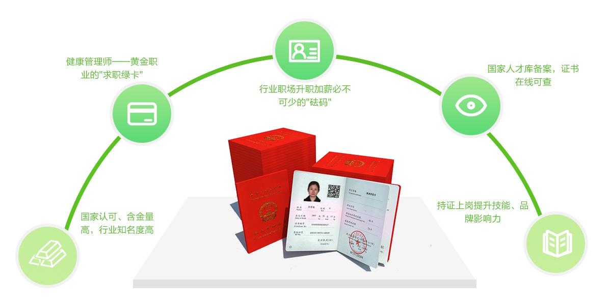 健康管理师的证书及优势